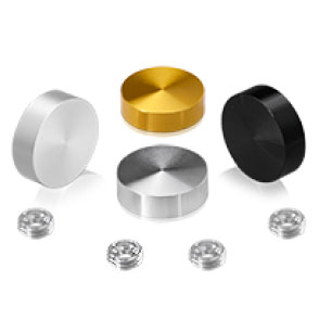 Cache-Vis Aluminium